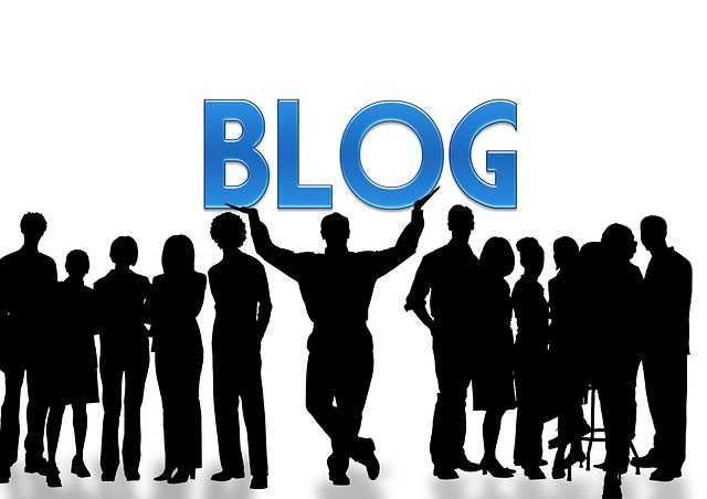 blog-2 man holding word up