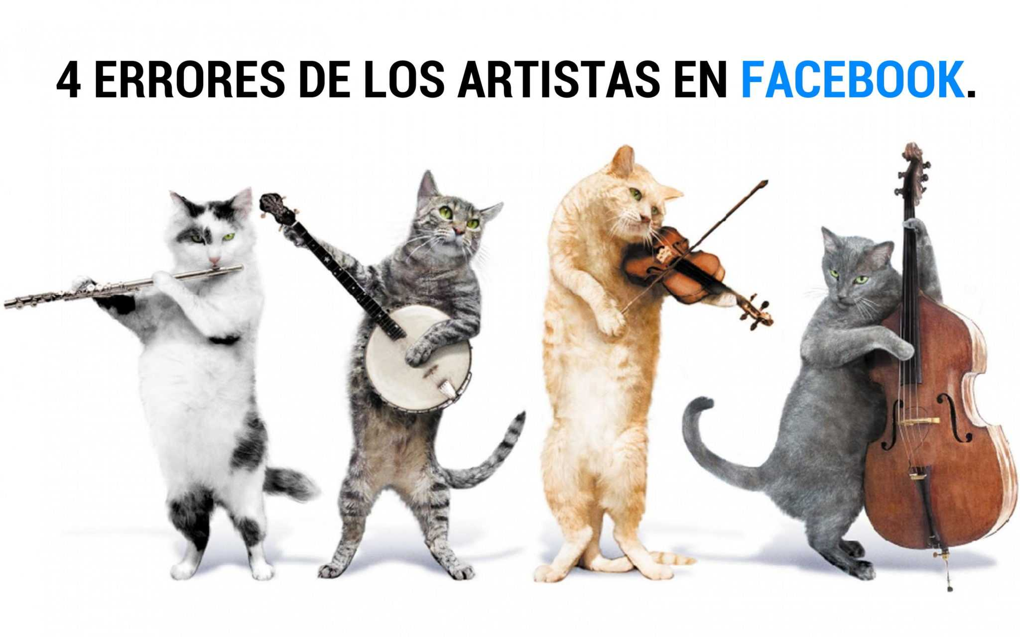 4 errores en Facebook